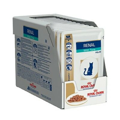 Royal Canin Feline Renal with Tuna 12 x 85gm Pouches