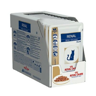 Royal Canin Feline Renal with Chicken 12 x 85gm Pouches
