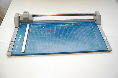 Dahle 552 Pro Rolling blade trimmer matt cutter metric/English used