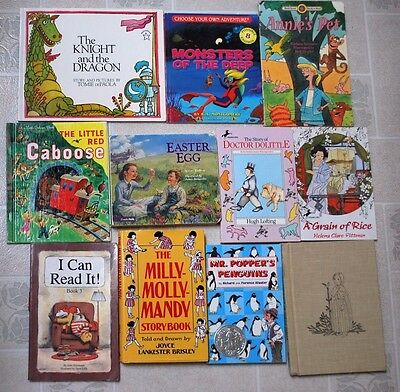 Lot 11 Books: Milly Molly Mandy, I Can Read It! Sonlight & My Father's World