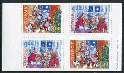 Christmas 1999 - Mnh Ex-Booklet Block Of Four Self-Adhesives (Bl314-Rr)