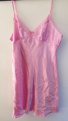 Sexy Women's Chemise Nightie Luxury Lingerie Size 14 Hot Pink