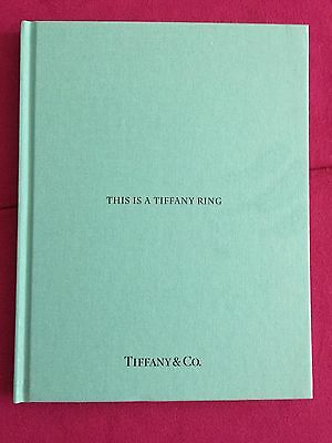 Tiffany&Co Catalog THIS IS A TIFFANY RING Catalogue Blue Book Hardcover2016 NEW