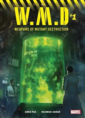 Marvel WMD Weapons Of Mutant Destruction Complete Set 8 Books