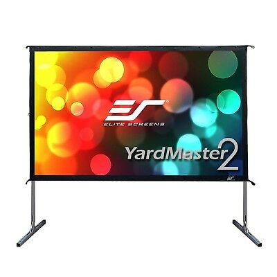 Elite Screens OMS100H2 Yard Master 2 Series Portable Outdoor/Indoor Movie The...