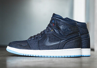 Brand New Nike Air Jordan 1 Retro High Family Forever Denim Size 8 US 682781 415