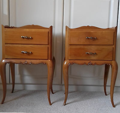 French Style Bedside Drawers