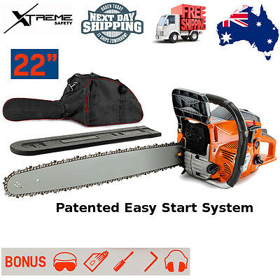 MTM High Quality 72cc E-Start Tree Pruning Petrol Commercial Chainsaw - 72SX