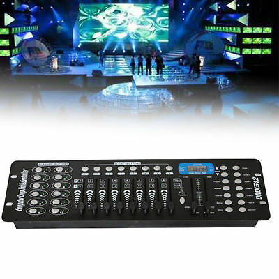 192CH DMX512 Controller für LED Stage Laser Light Lichtsteuerungen Disco Party