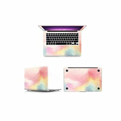 Laptop Pink Painting Decal Sticker Full Skin Cover for Macbook Air Pro Retina