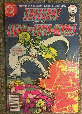 superboy and the legion of super heroes no 224