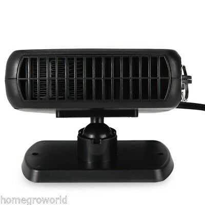 12V 2 in 1 DC Car Fan 150W Dryer Windshield Demister Defroster Auto Heating CA