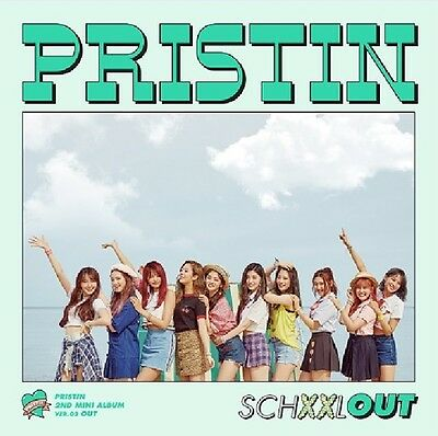 PRISTIN 2nd Mini Album - [SCHXXL OUT] OUT Ver CD+Photobook+Postcard+Sticker+Card