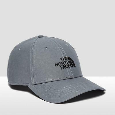 New The North Face Mens Classic Baseball Cap Outdoors Clothing Grey