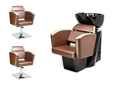SALON HAIRDRESSING STYLING FURNITURE SETS Backwash  Unit Styling Chairs NEO