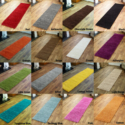 Hallway Runner 5cm Thick Soft Pile Shaggy Modern Large Runners Rug at Low Cost