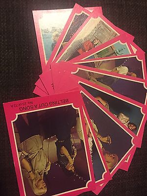 """1976 """"ABBA - Series A (Pink Set)"""" #23 to #32. 10 Cards In Total."""