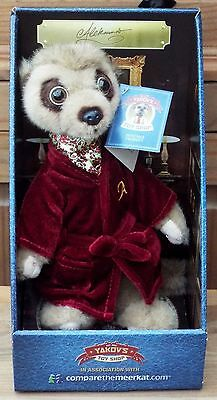 Compare The Meerkats Soft Toys ..'.aleksandr'... Yakov's Toy Shop. Brand New.
