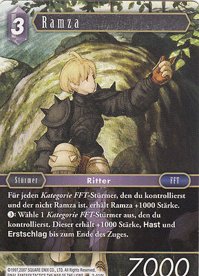 Final Fantasy Trading Card Game Opus 3 | RAMZA 3-119L No Foil NEU