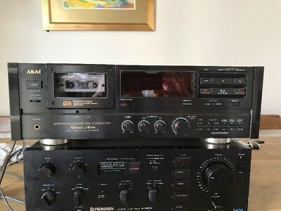 Akai GX 95 Mk II Cassette Deck Excellent Condition Recently Serviced