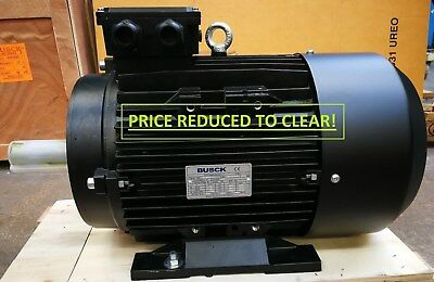 NEW BUSCK 15 KW, 3 PHASE, IE2, 400V, 50HZ, B3, 2 Pole, ME160MB-2 ELECTRIC MOTOR