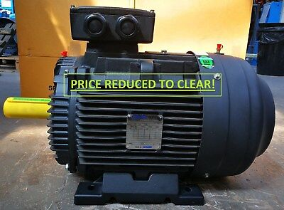 PRICE REDUCED! NEW BUSCK 22KW, 3PH, IE2, 400V, 50HZ, B3, 2Pole, ELECTRIC MOTOR