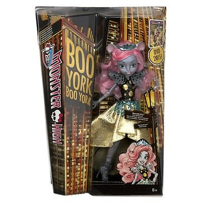 Monster High Boo York Boo York Gala Ghoulfriends Mouscedes King Doll Chw61