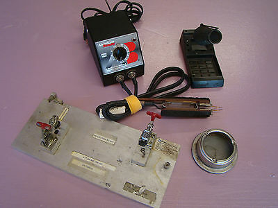 American Beauty 105A3 100 watt Resistance Soldering Station & Accessories (407)