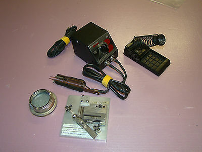 American Beauty 105A3 100 watt Resistance Soldering Station & Accessories (412)