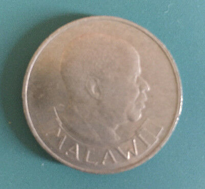 1964 Malawi Half Crown Coin