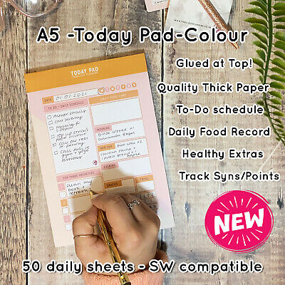 Food Diary Diet Journal Weight Loss Compatible Slimming Plans SW Tracker C17