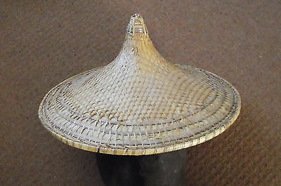 Vintage Coolie Rice Paddy Farmer  Hat