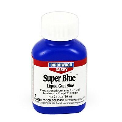 Birchwood Casey Super Blue 3oz liquid - double strength Gun Blue metal finishing