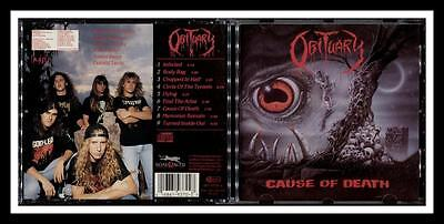 Obituary Cause Of Death 1990 Roadrunner Cannibal Corpse Morbid Angel Deicide