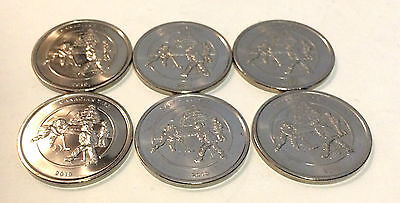 Canadian Tire 2010 Hockey Dollar Coin Pack of 6