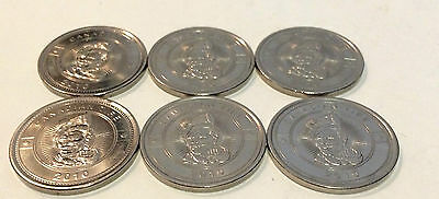 Canadian Tire 2010 Dollar Coin Pack of 6