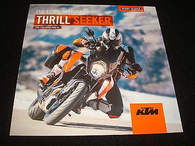Ktm 1290 Super Duke Gt Uk Sales Brochure 2016 New, Old Stock