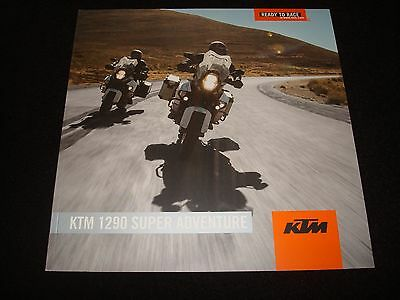 Ktm 1290 Super  Adventure Uk Sales Brochure 2015 New, Old Stock