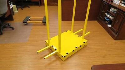 Yel-Low Safety Dolly Cart Industrial Moving Handtruck