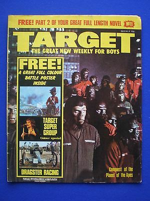 TARGET  Comic weekly for Boys - # 11  -  1st July 1972  Planet of the Apes