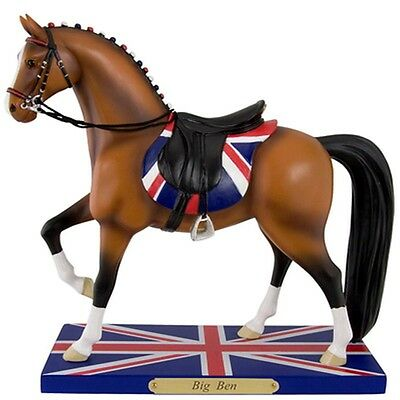 Big Ben Painted Pony Very Low 1St Ed #1E 0076 Htf British Riding Style Retired