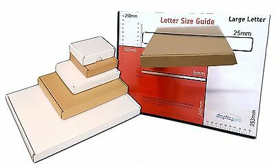 Postal Cardboard Boxes Small Large Letter Shipping Cartons *Multi Listing* PiP