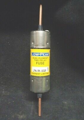 NEW * BUSSMANN * LPN-RK-90SP * Low Peak 90A Time Delay Fuse * 600VAC