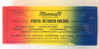 Marshall's Transparent Liquid Photo Retouch Colors - Group 1