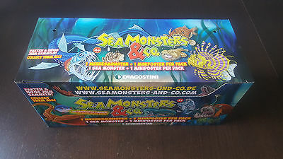 DeAgostini Seamonsters & Co 1 Display Inhalt 21 Tüten Booster Neu OVP