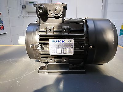 New Busck 3 KW, 3 Phase, 2 Pole, Torque 10.12 NM MINI Brake Electric Motor
