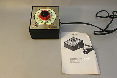 Photobell Model 10  Industrial Timer Darkroom Photography Enlarger  w/manual