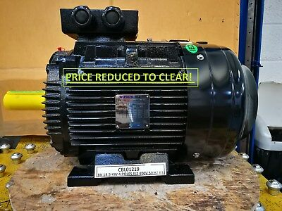 NEW BUSCK 18.5KW, 3 PHASE, 400V, IE2, 50HZ, B3, 4 pole WE180M-4 ELECTRIC MOTOR