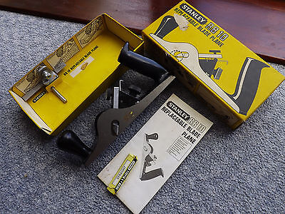 Stanley RB 10 replaceable blade plane VGC see details