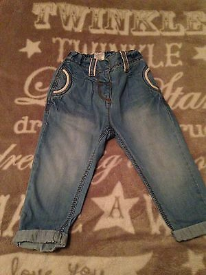 Baby Girl Next Jeans 9-12 Months